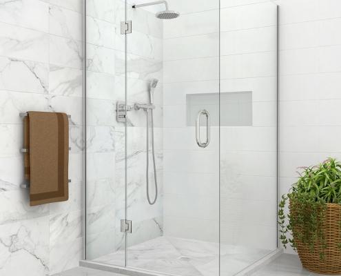 nexus DIY tile shower