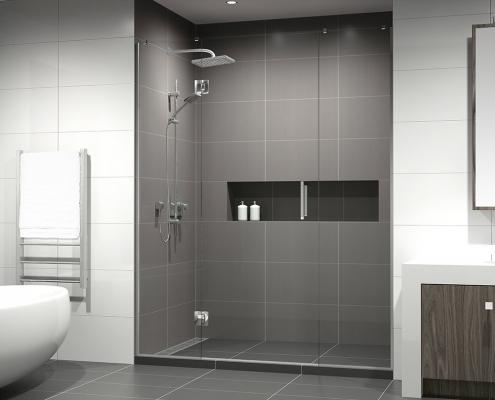 urbis DIY tile shower