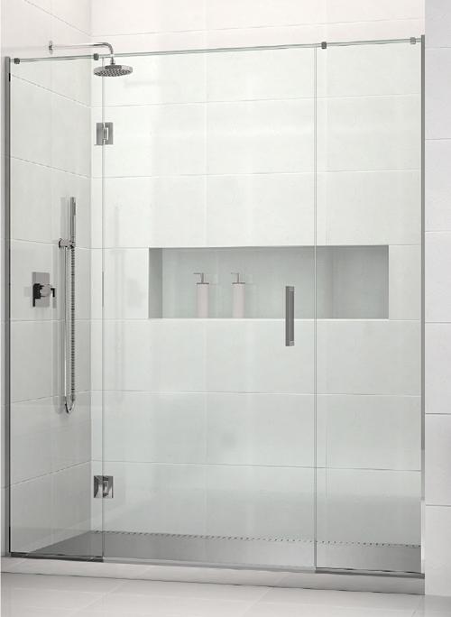 metro stainless premium shower