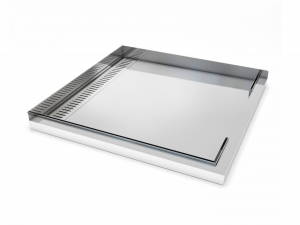 Image of the Metro Stainless Shower Tray