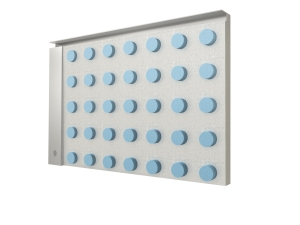 Image of the underneath side of the Metro Stainless Shower Tray