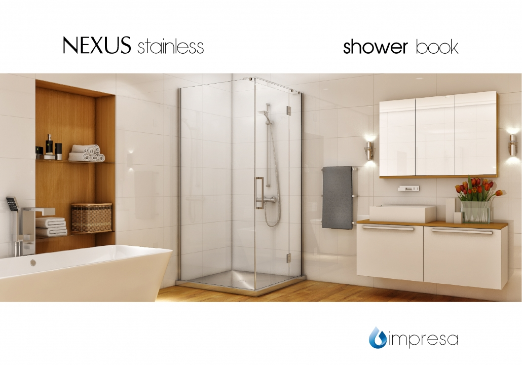Image of the Nexus Stainless Shower Book