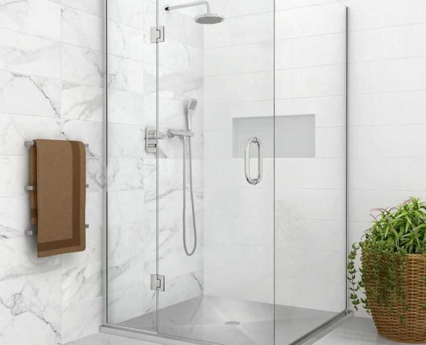 nexus stainless DIY shower