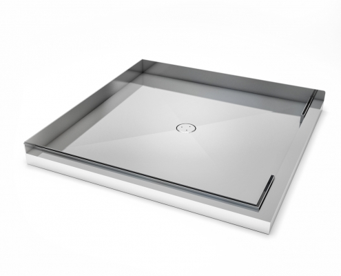 stile stainless tray