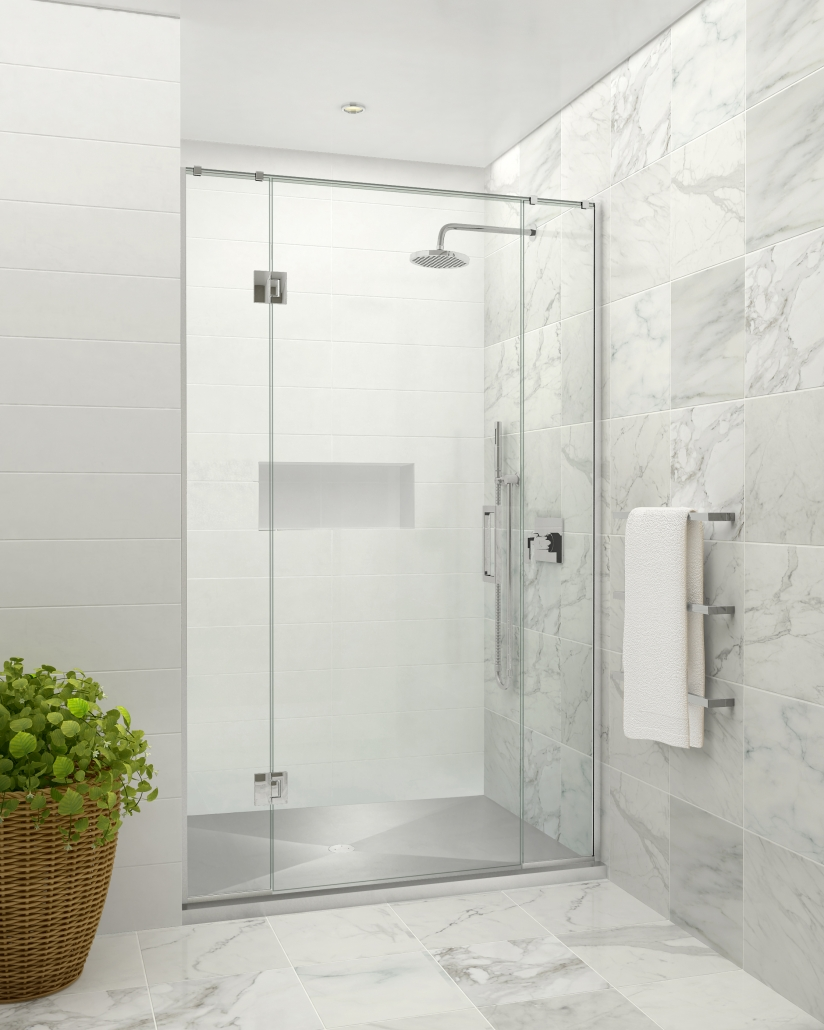 Image of the Stile Stainless Alcove shower