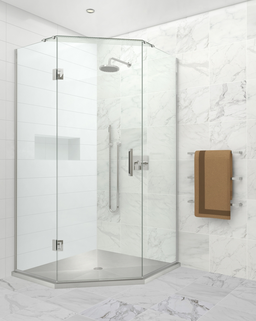 Image of the Stile Stainless Angle shower